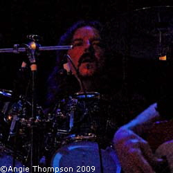 Pete Thompson, drums ©Angie Thompson 2009