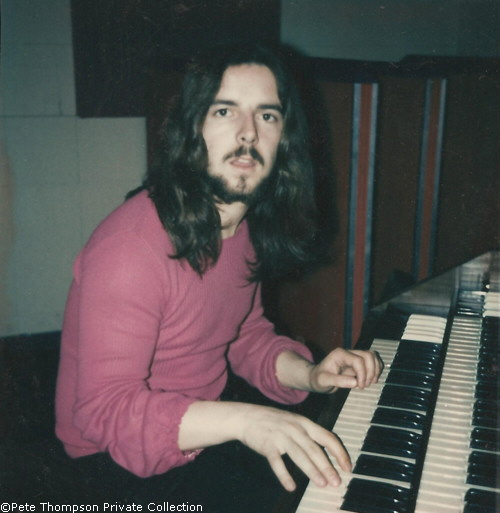 Pete Thompson @ Abbey Road ©Pete Thompson Private Collection