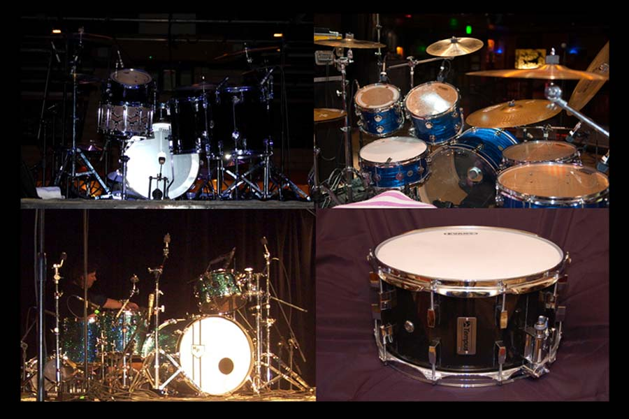 Sonar, DW,  and Tempus Drums